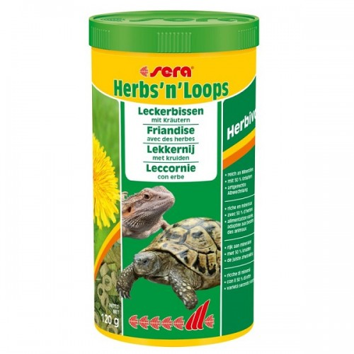 SERA HERBS'N'LOOPS -1000 ML